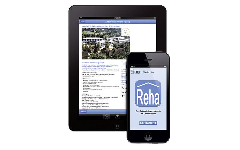 Rehakliniken App