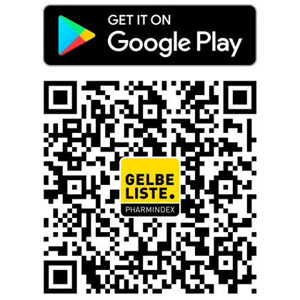 Gelbe Liste App QR Android