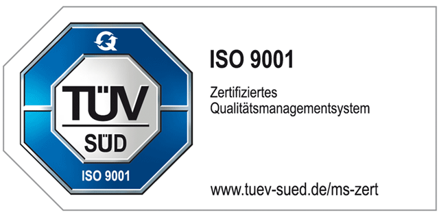 MMI ISO-Zertifikat