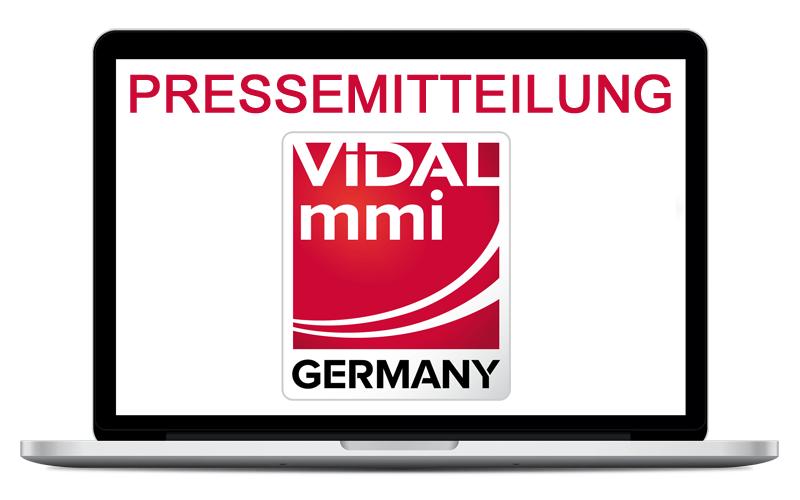 Vidal MMI Pressemitteilung